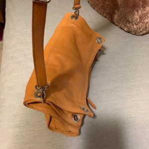 Leather Valentina Shoulder Bag